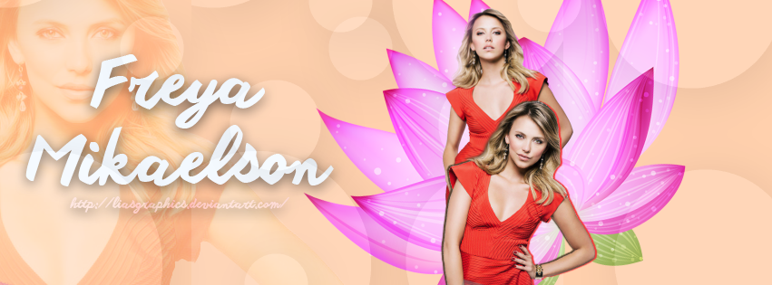 Riley Voelkel as Freya Mikaelson by Liasgraphics