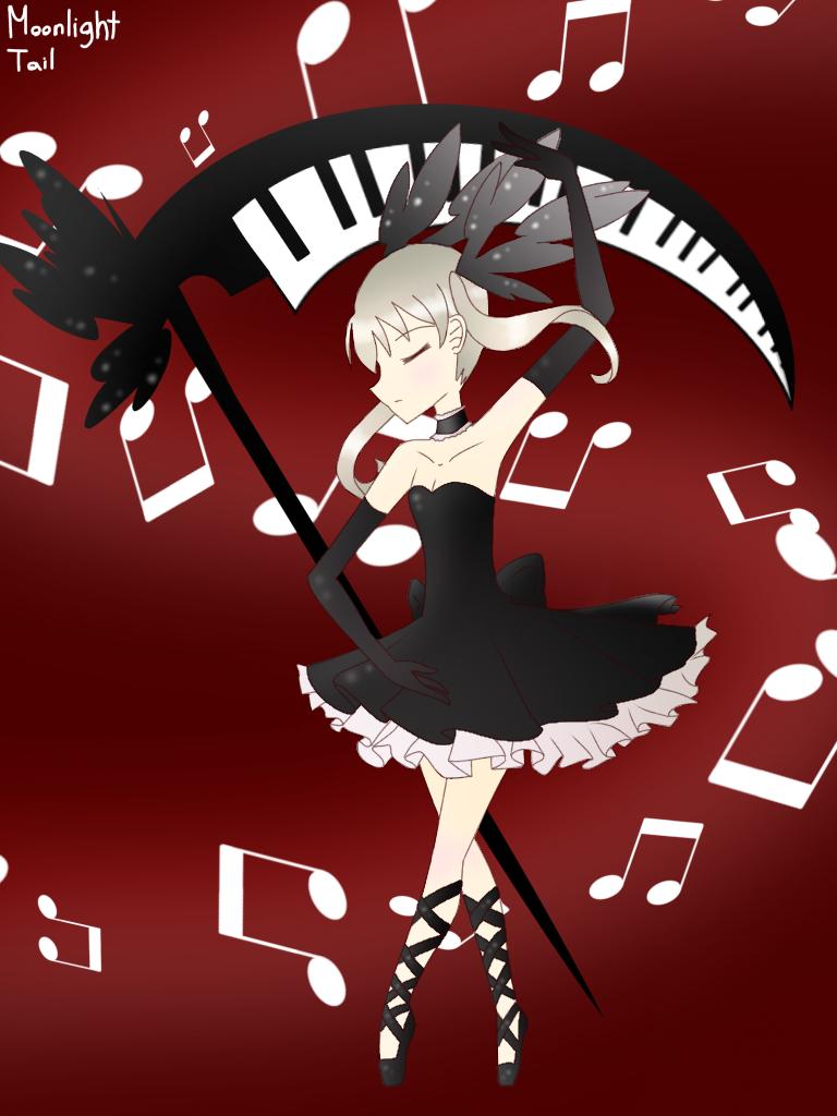 Black Blood Ballet by MoonlightTail-YT