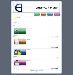 Digital4Host page