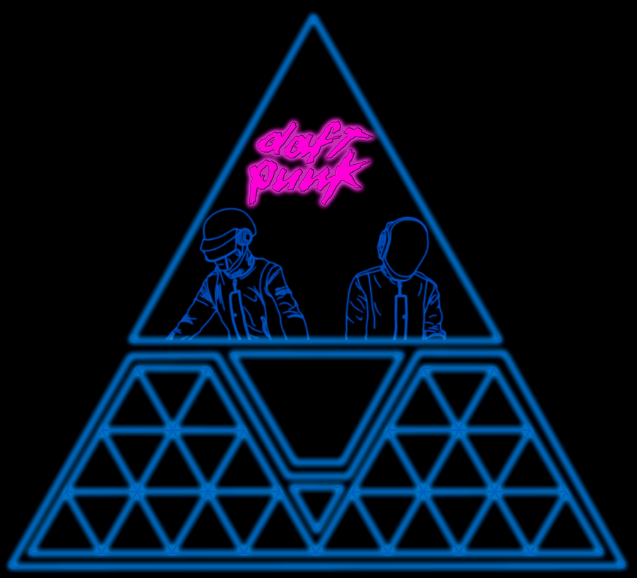 Daft Punk by sebadbz on DeviantArt