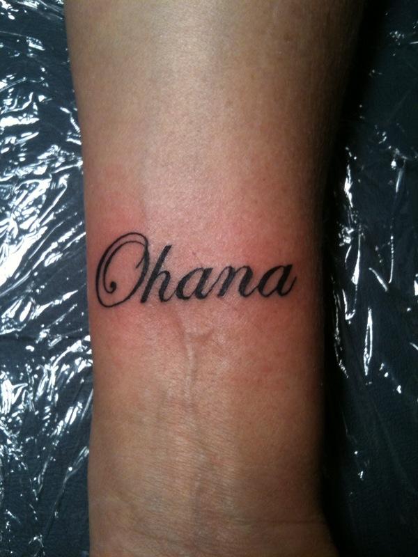 ohana tattoo ideas the image kid has it. Black Bedroom Furniture Sets. Home Design Ideas