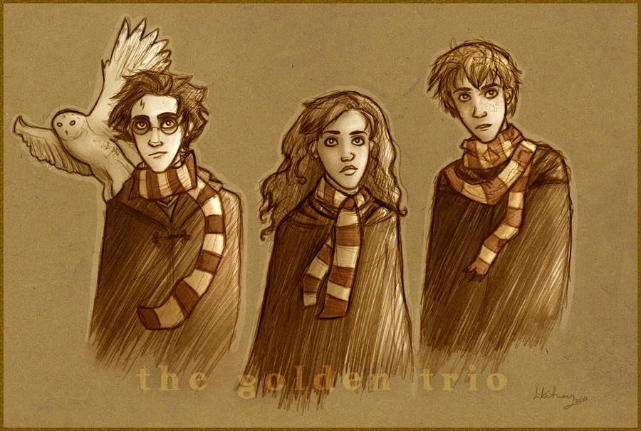 The Golden Trio by Until-The-Dark