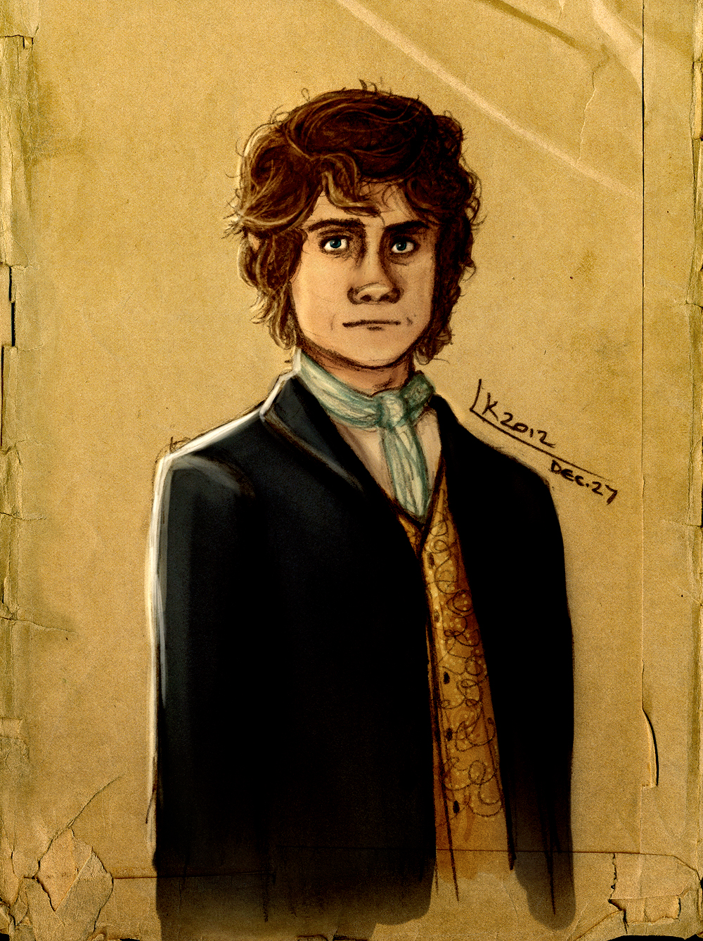Bilbo Baggins by Until-The-Dark