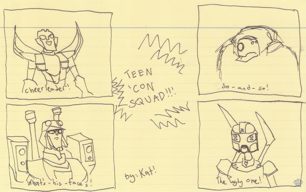 TEEN 'CON SQUAAAAAAD :D by Sanguijuela