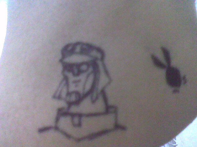 Blitzwing pen tattoo by Sanguijuela