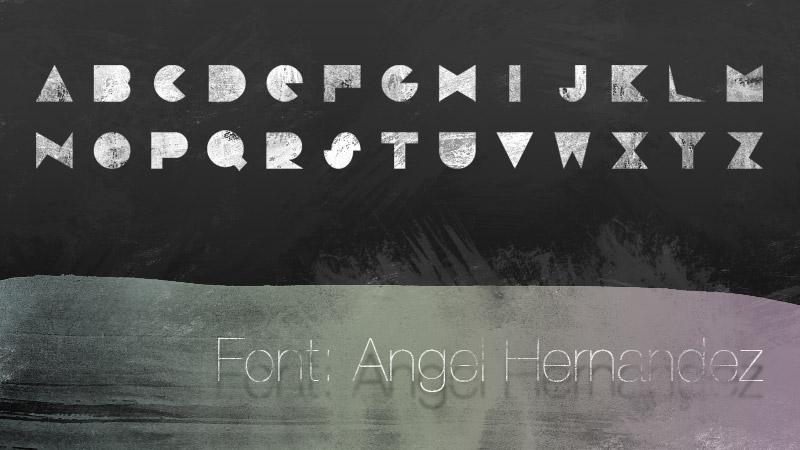 Techno Font by xzentrico
