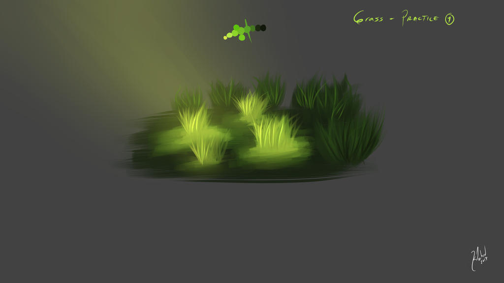 Grass Practice by klehid