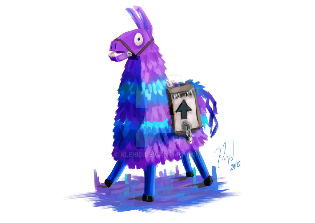 Fortnite llama by klehid on deviantart - Fortnite llama background ...