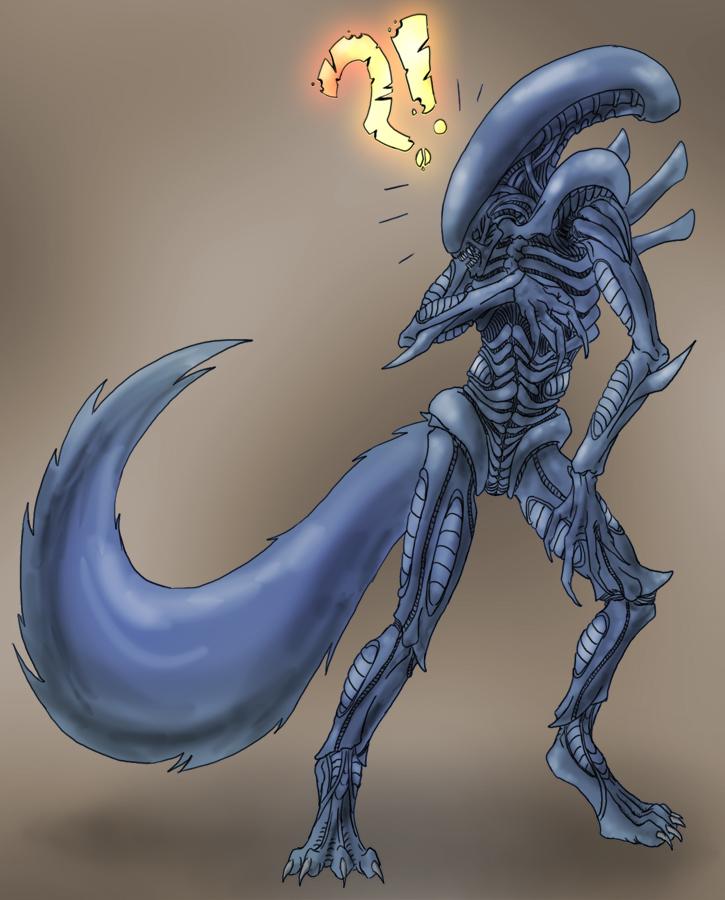 Furry Xenomorph? by Ex3quias