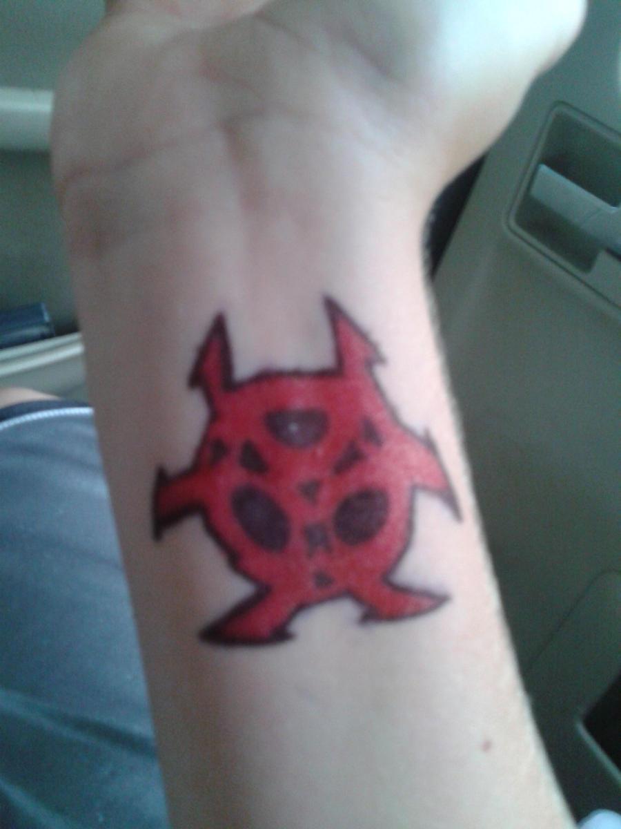 Self tattoo sharpie by toxictattoos7 on deviantart for Sharpie tattoo designs