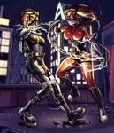 Fledgling vs Lasher [by Plasma-Dragon]