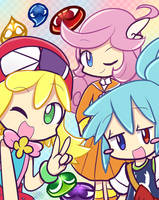 -Puyo Day- by MacaHeroes