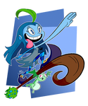 Bluehilda - Fanart