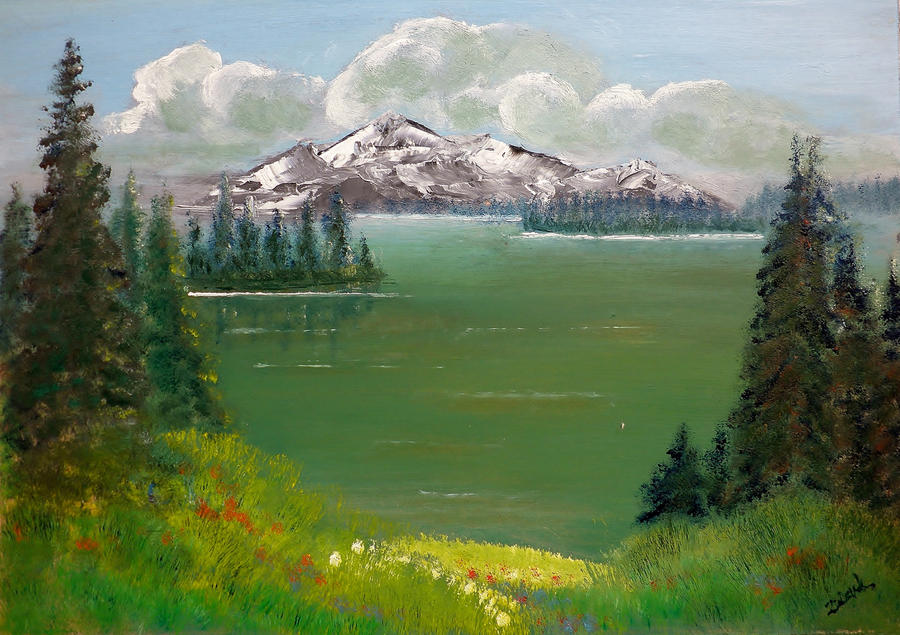 Spring in the mountain II (H. Zidovnik L) by HelaLe