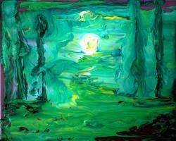 Fluid Night by HelaLe
