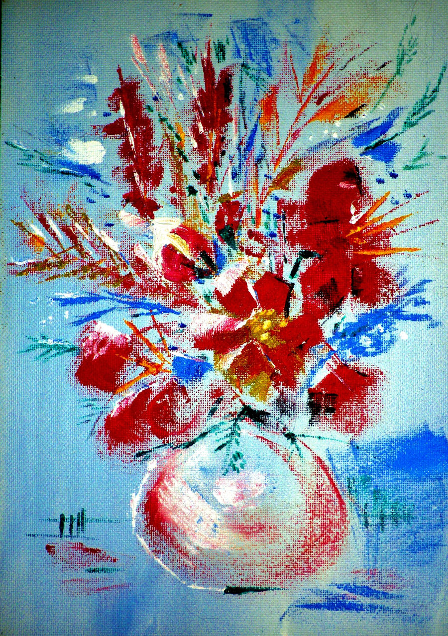 Bouquet by HelaLe