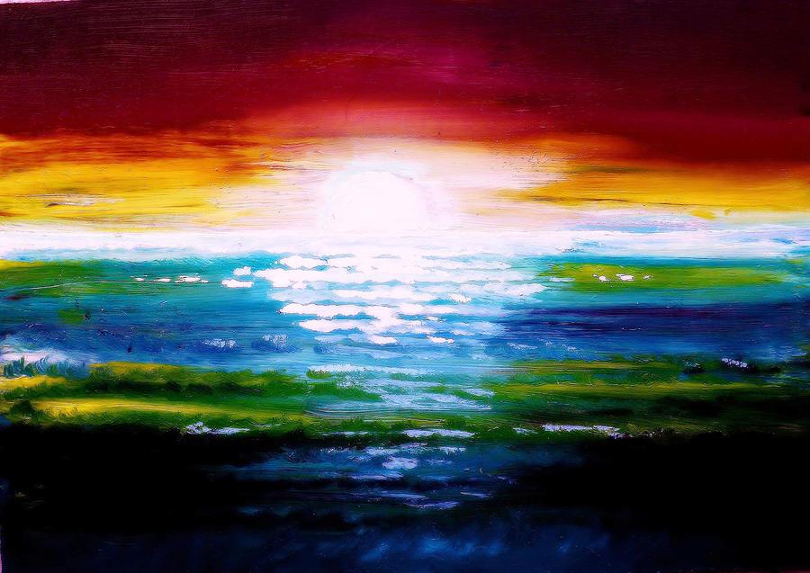 Sunset II by HelaLe