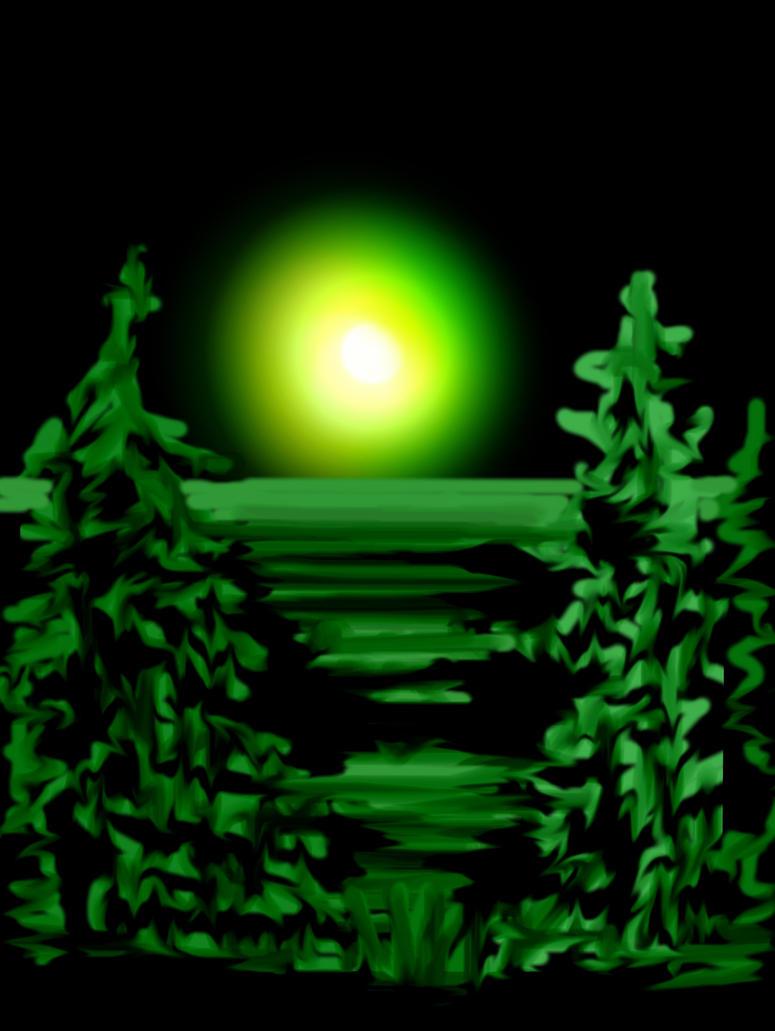 Night by HelaLe