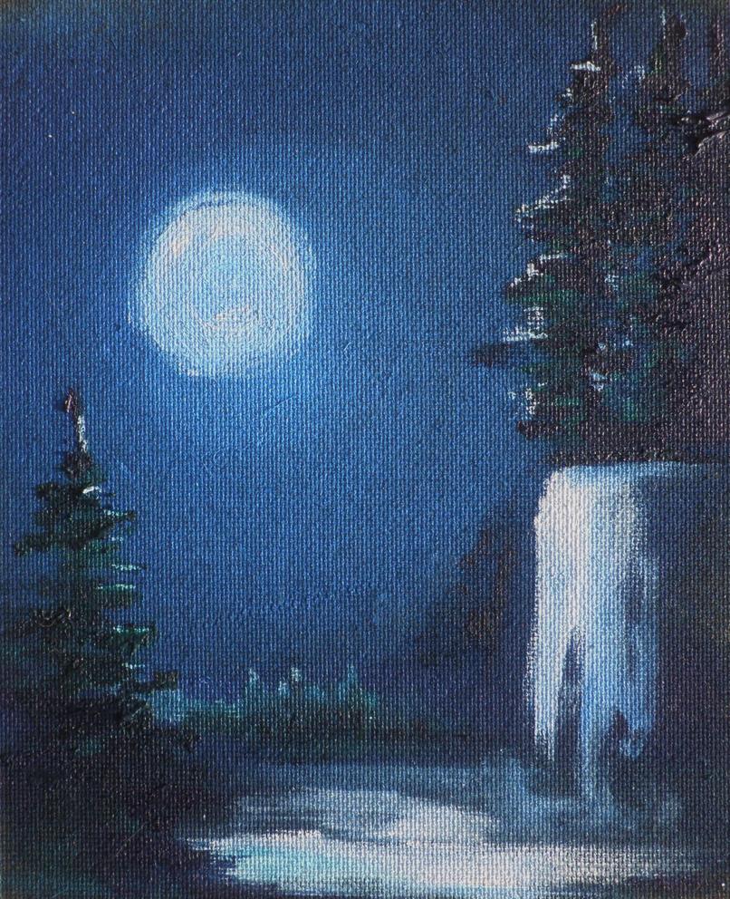 Winter Moon by HelaLe