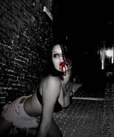 Vampire Ashley-Blood Alley by VampHunter777