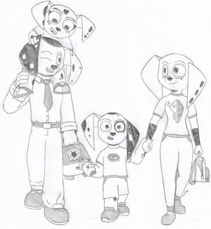 The Dalmatian family