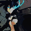Black Rock Shooter avatar by akinuy