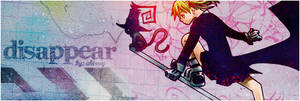 Disappear banner