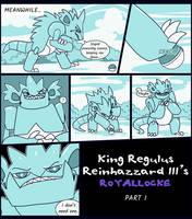 King Regulus Rainhazzard III ROYALlocke part 1-1 by Velink