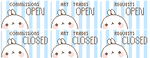 Molang Status Stamps 2 - Full Set - FREE TO USE ! by PastelPon