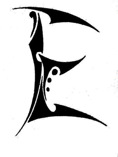 "Letter ""E"" by Tonfish on DeviantArt"