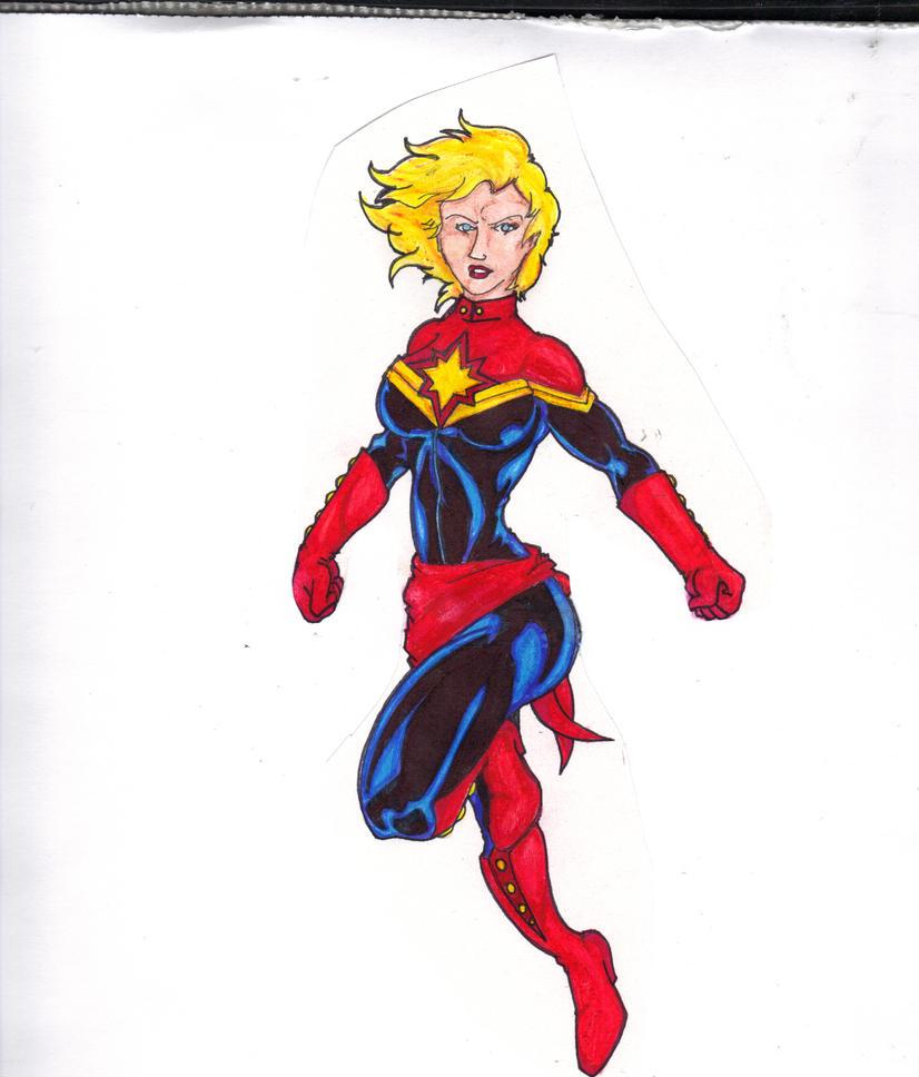 captain marvel f
