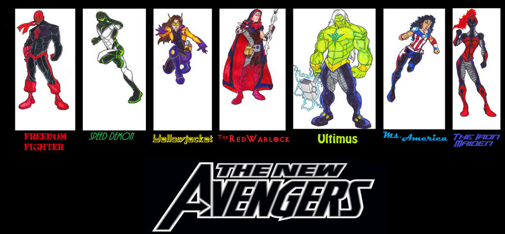 Avengers 2099 the young avengers 2099 by