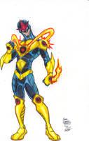 Marvel Revolt: Nova by FrischDVH