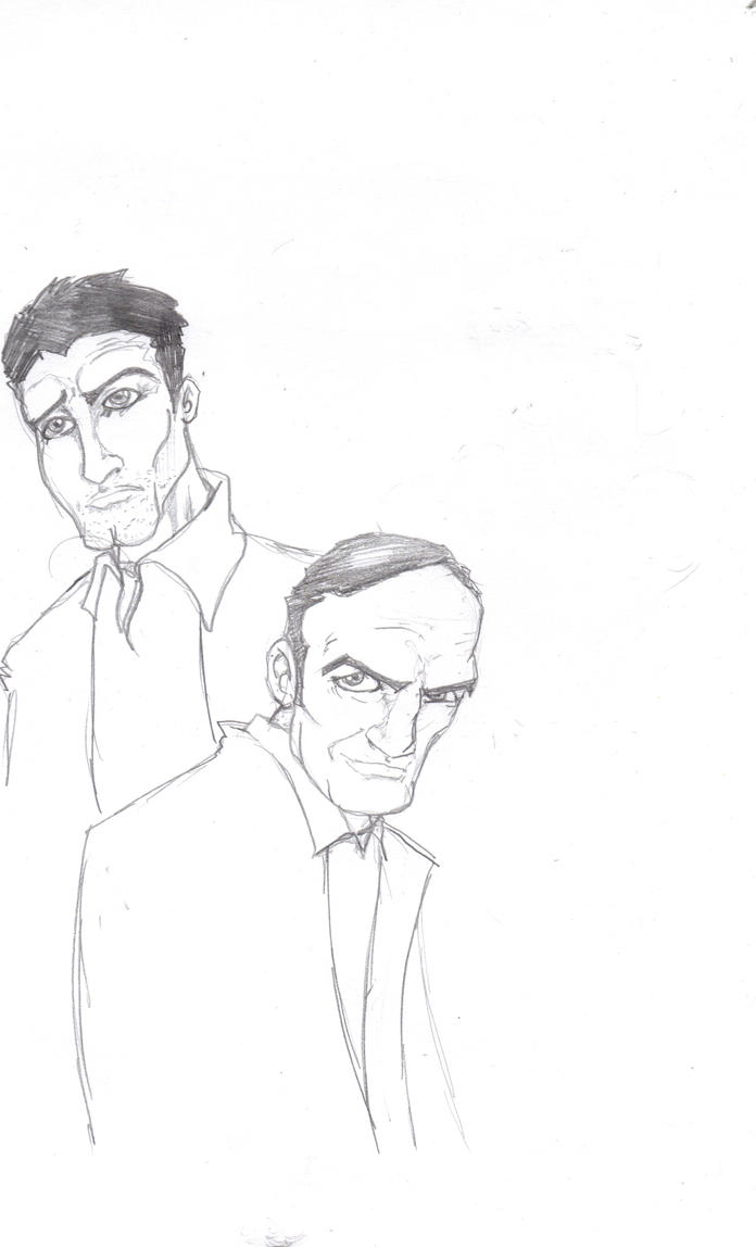 Coulson and Ward Sketch by FrischDVH