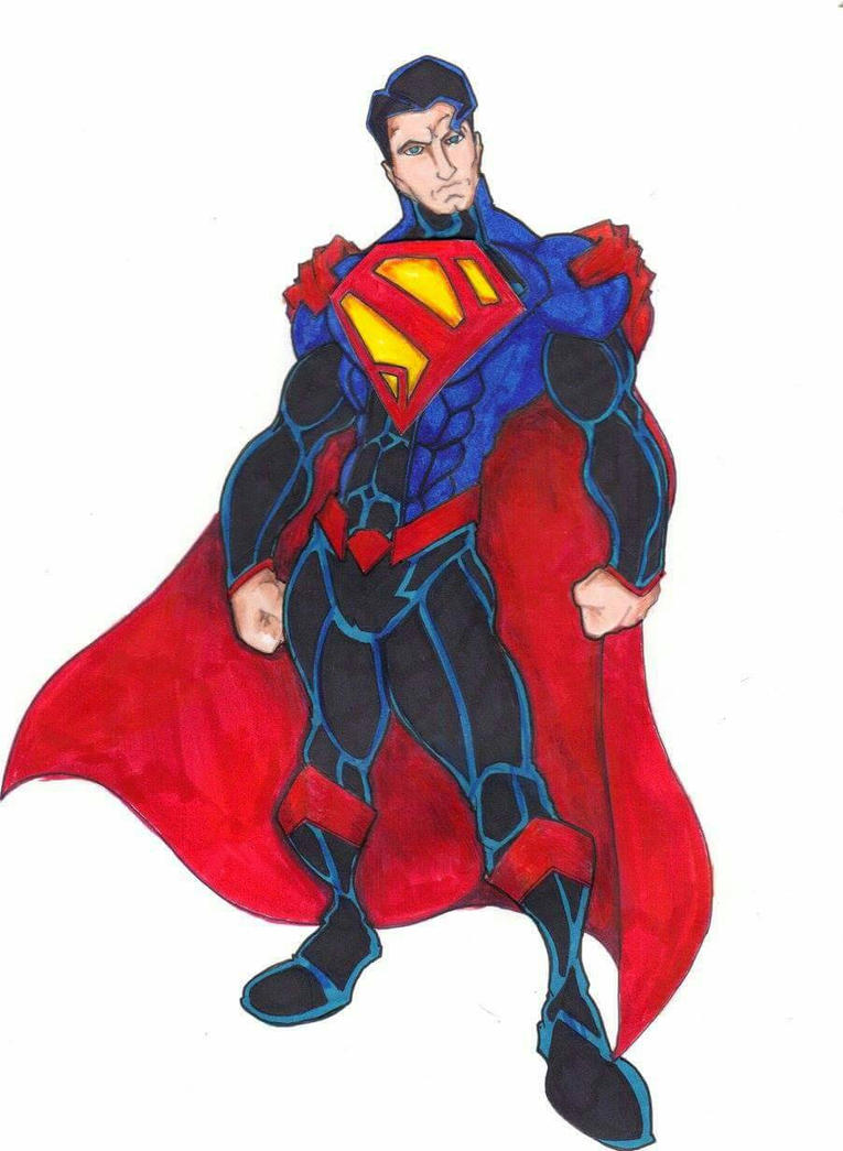 Superman Redesign 6 by FrischDVH