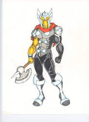 Marvel REVOLT: Beta Ray Bill by FrischDVH