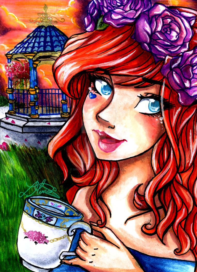 Loki's Tea Time by SnowyMarriner