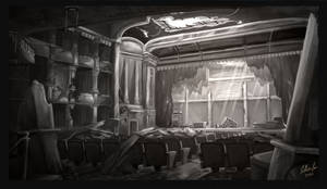 Abandoned Theatre by LillianLai