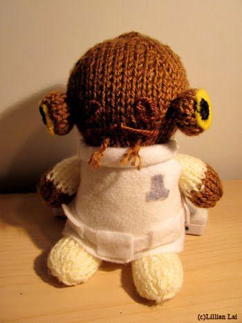 Admiral Ackbar Knit Toy