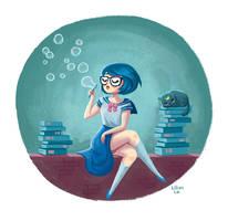 Sailor Mercury by LillianLai