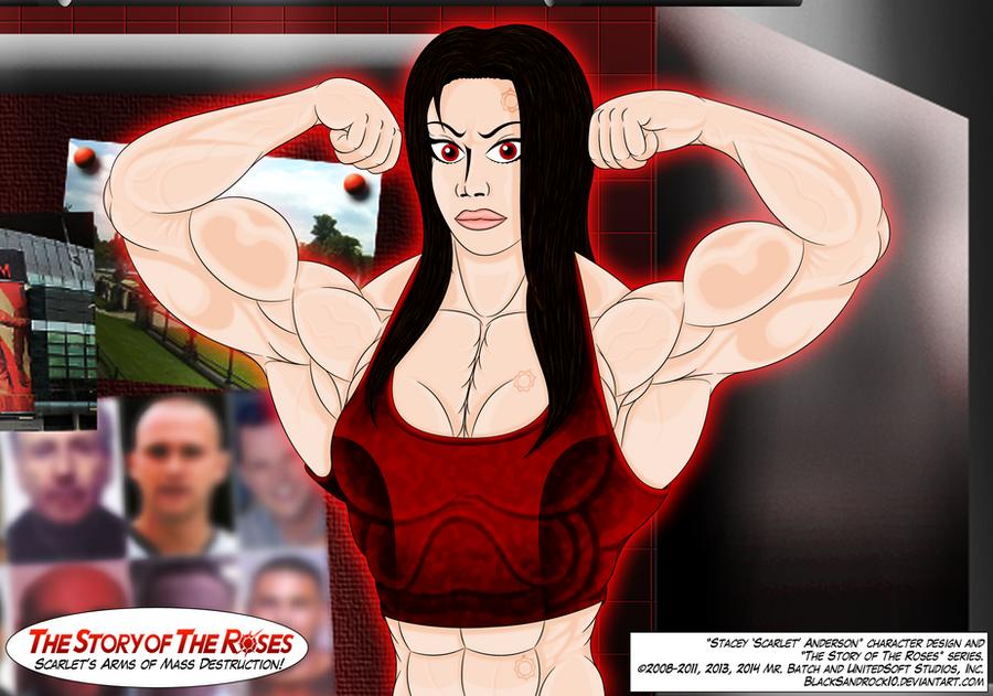 Scarlet's Arms of Mass Destruction by BlackSandrock10