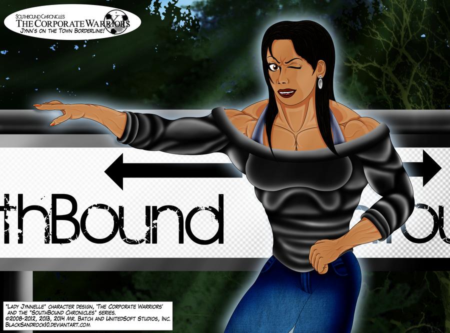 Jynn's on the Town Borderline by BlackSandrock10