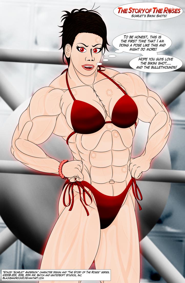 Scarlet's Bikini Shots - No.2 by BlackSandrock10