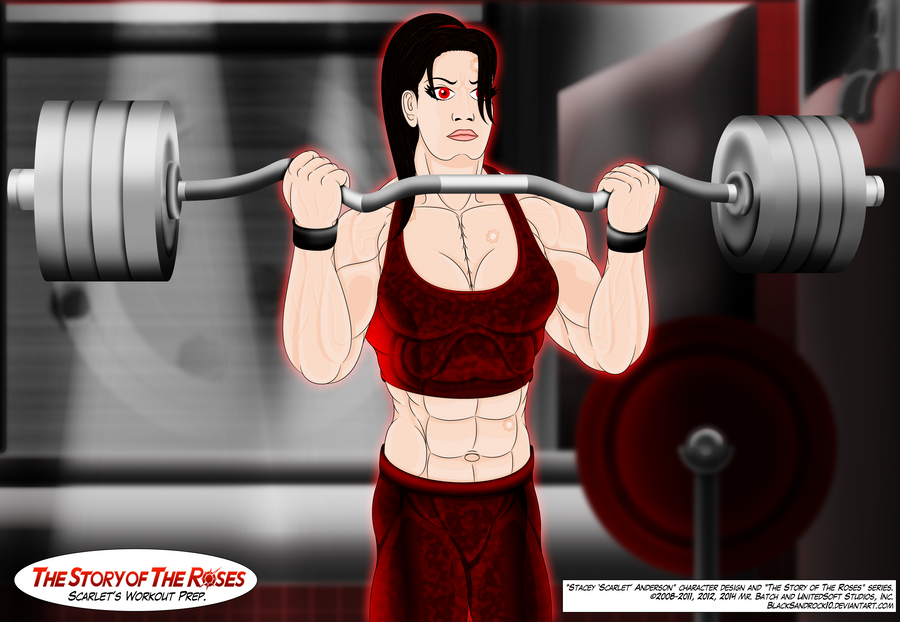 Scarlet's Workout Preparation - No.1 by BlackSandrock10