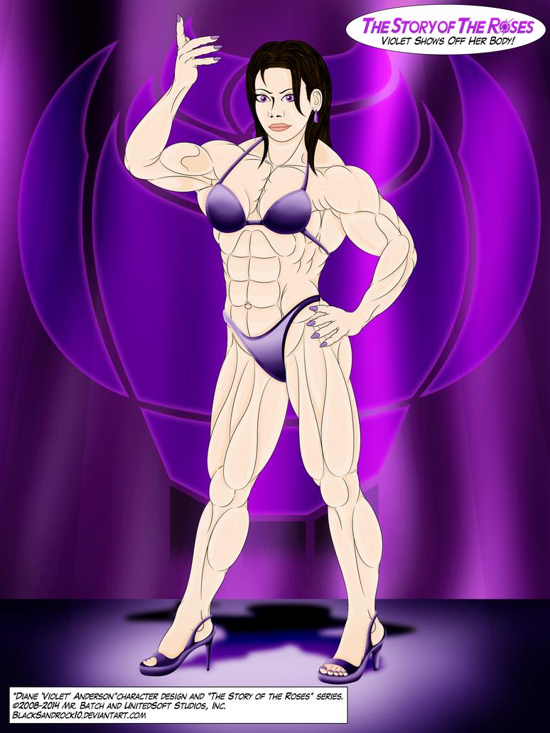 Violet Shows Off Her Body! - No.1 by BlackSandrock10