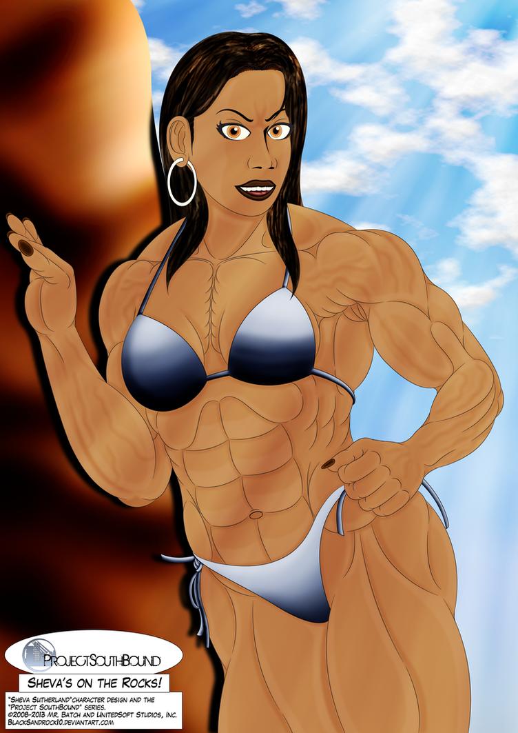 Sheva's on The Rocks - No.2 by BlackSandrock10