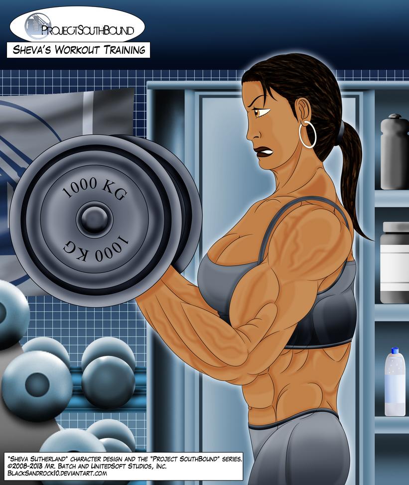 Sheva's Workout Training - No.2 by BlackSandrock10
