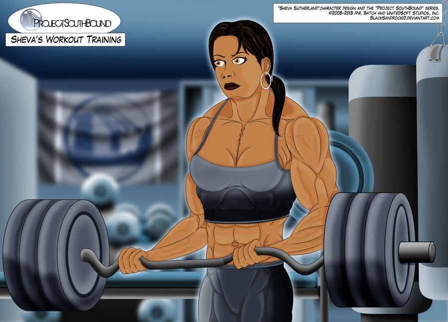 Sheva's Workout Training - No.4 by BlackSandrock10