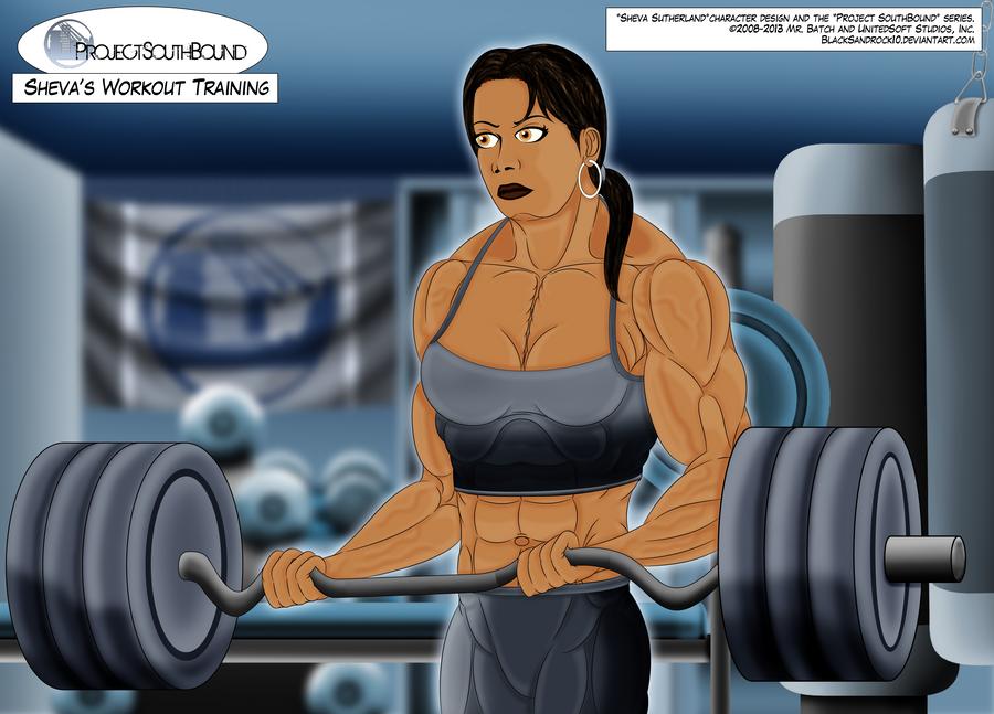 Sheva's Workout Training - No.4 by BlackSandrock10