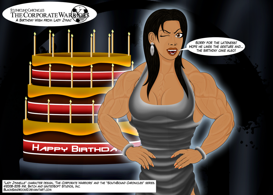 A Birthday Wish from Lady Jynnelle by BlackSandrock10